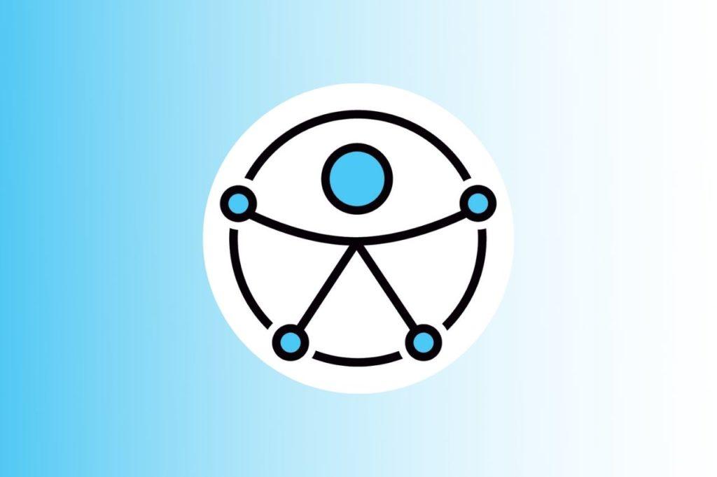 simbolo disabile uomo vitruviano