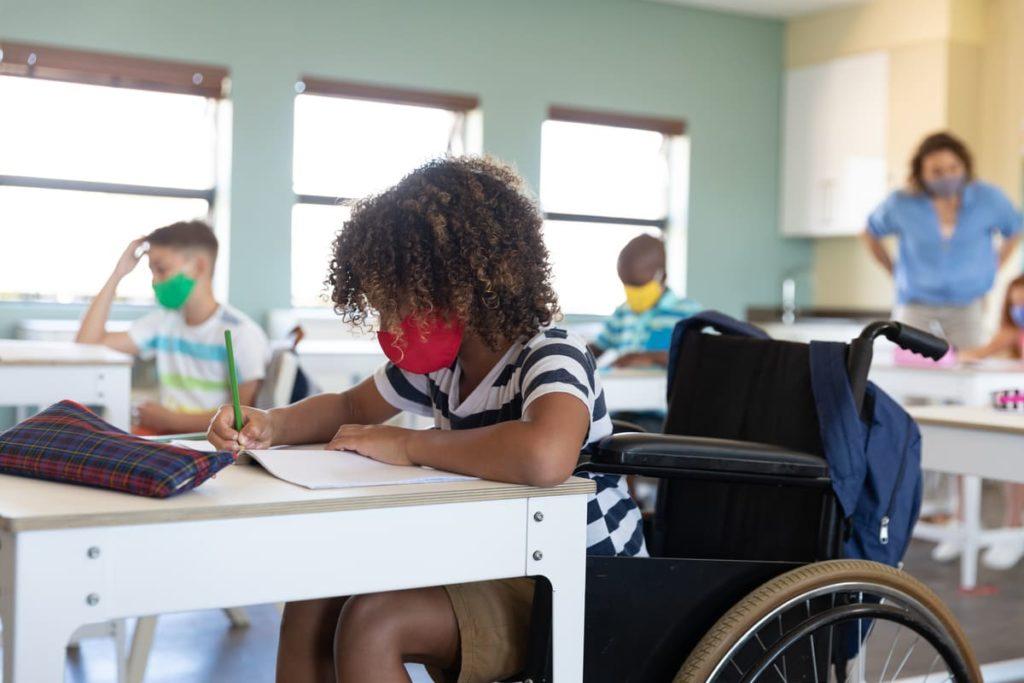 alunni disabili a scuola in tempo di covid