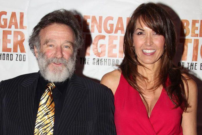Robin Williams e Susan Schneider Williams