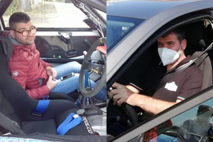 francesco cozzula navigatore rally ipovedente