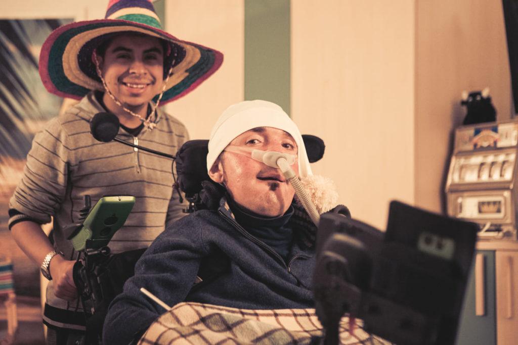 webserie nonno seduto michele sanguine
