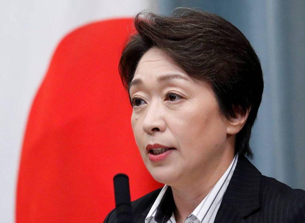 presidente tokyo 2021 seiko hashimoto