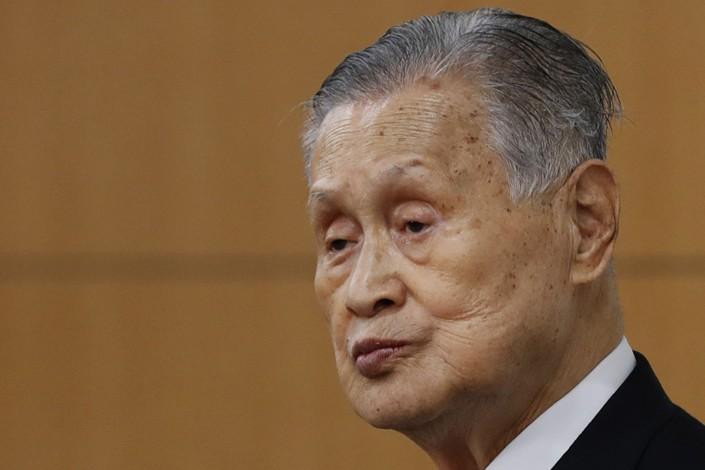 yoshiro mori dimissioni ntokyo 2021