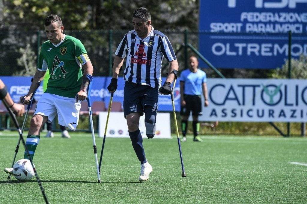 campionato calcio amputati italia