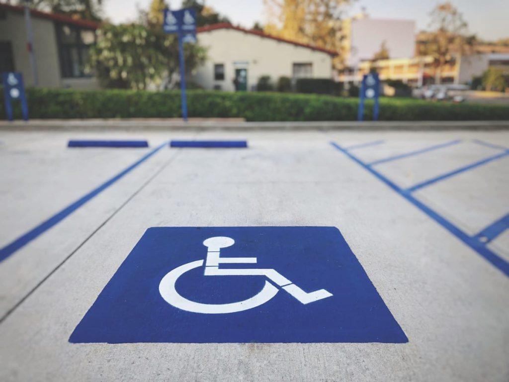 multa per parcheggio disabili