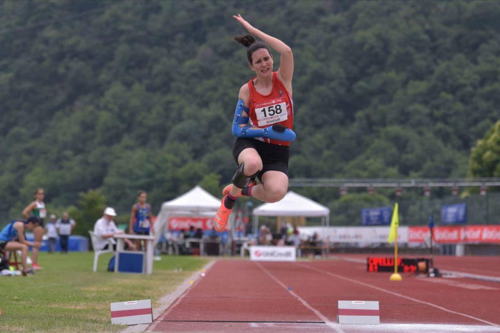 francesca cipelli record atletica paralimpica