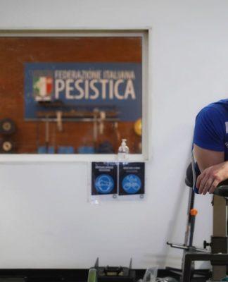 donato telesca sollevamento pesi powerlifting paralimpico paralimpiadi biografia fipe
