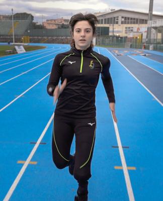 ambra sabatini amputata atletica leggera fispes paralimpiadi paralimpico
