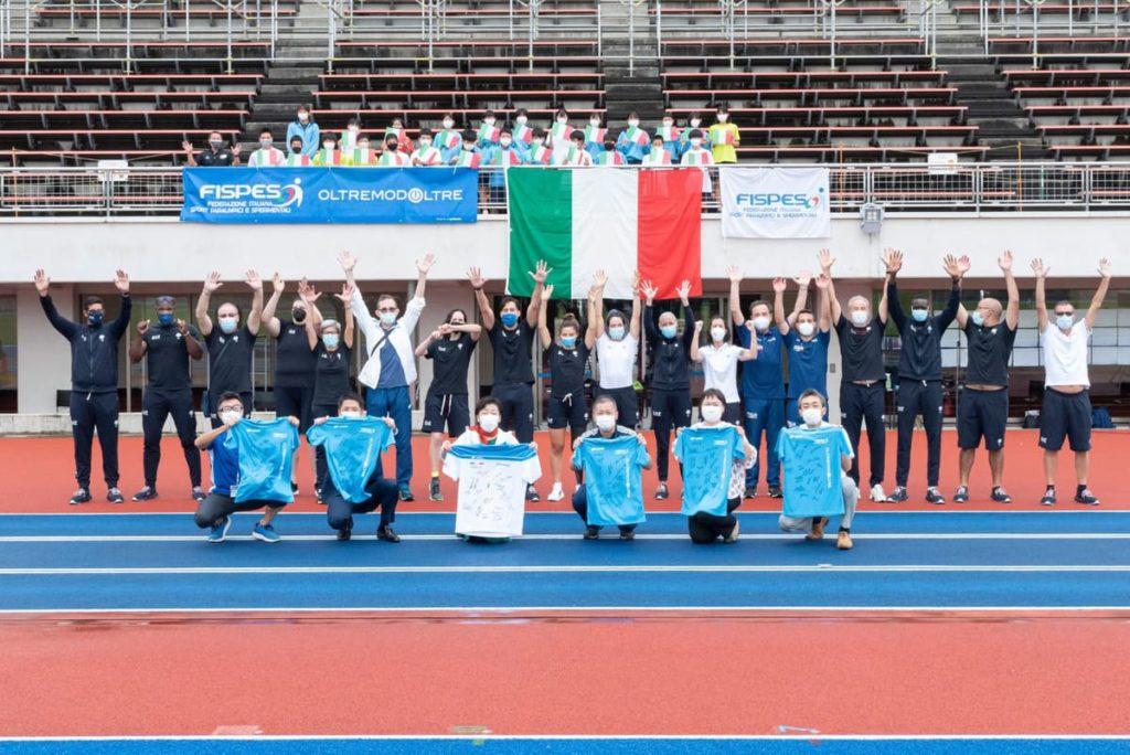 atleta paralimpico a paralimpiadi tokyo 2020