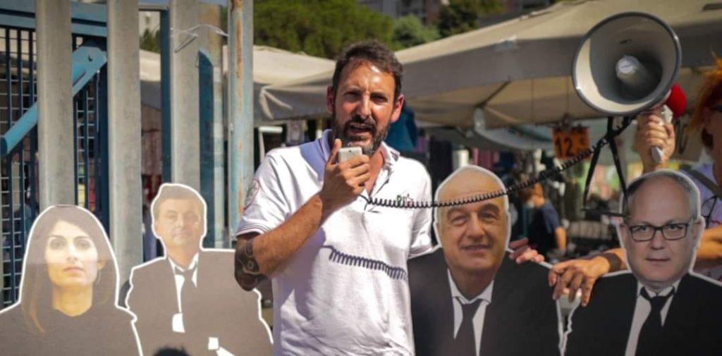 gilberto trombetta candidato sindaco elezioni roma 2021