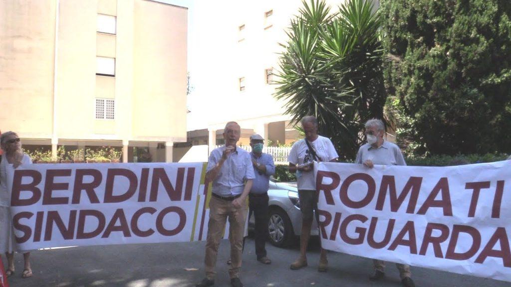 paolo berdini elezioni roma 2021