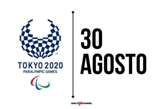orari programma paralimpiadi tokyo 2020