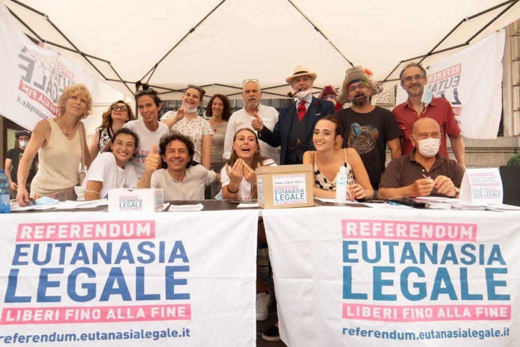 tavoli del referendum eutanasia legale