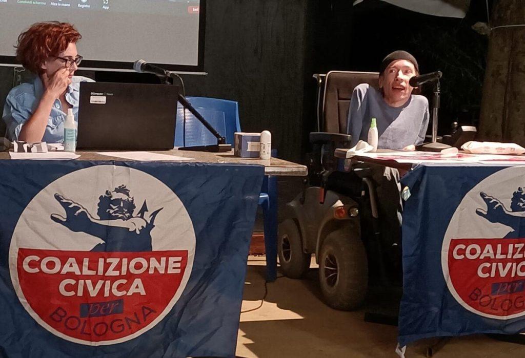 maximiliano ulivieri candidato elezioni bologna 2021