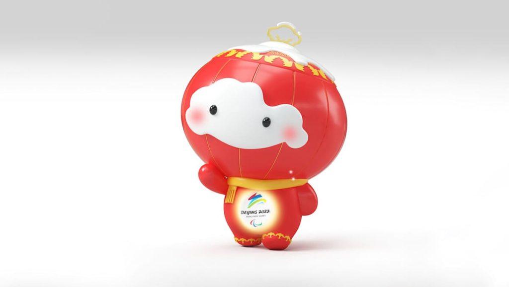 mascotte paralimpiadi pechino 2022