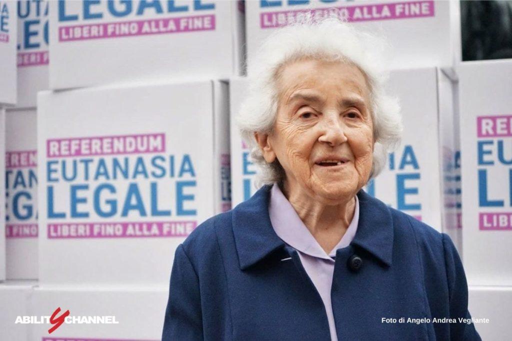 mina welby referendum eutanasia legale