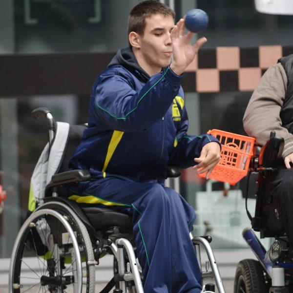 Boccia paralimpica